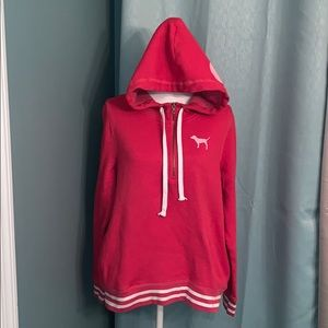 Women's size large VS 1/4 zip hoodie!